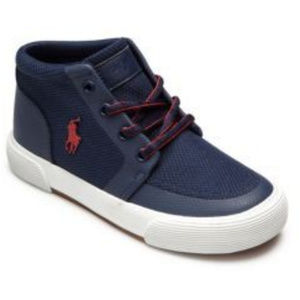 Like New! Ralph Lauren Navy High Tops - 12M
